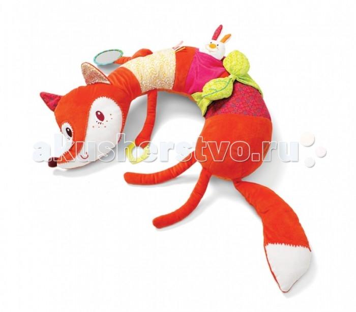 Lilliputiens Подушка-игрушка Лиса Алиса: развивающая игрушка-подушка