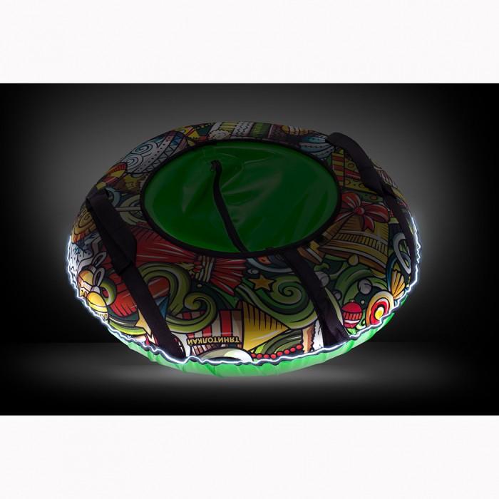 Купить Тюбинг А.В.Т.Спорт Оксфорд XMAS Led Светодиодная подсветка 100 см в интернет магазине. Цены, фото, описания, характеристики, отзывы, обзоры