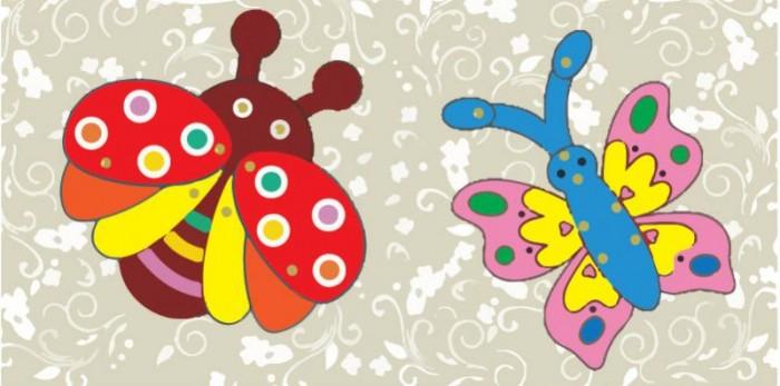 Купить Color Kit забавные фигурки Божья коровка и бабочка в интернет магазине. Цены, фото, описания, характеристики, отзывы, обзоры