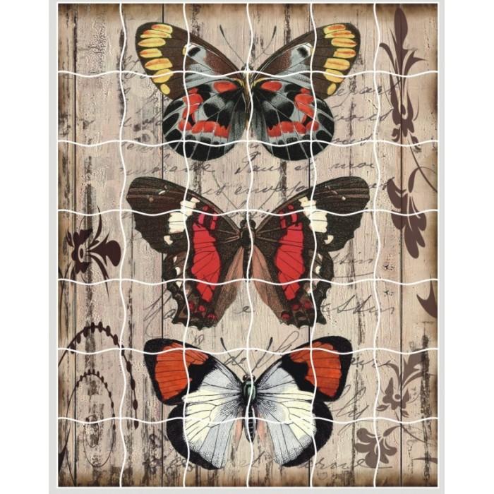 Пазлы Color Kit пазлы-стикеры Панно из бабочек