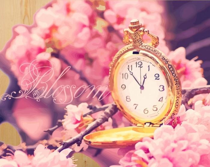 картины по номерам color kit картина по номерам розы для любимой Картины по номерам Color Kit Картина по номерам на дереве Время цветения сакуры