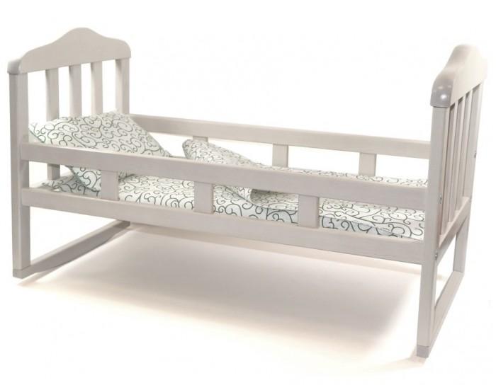 Кроватка для куклы Paremo люлька с балдахином Мимими Крошка Соня