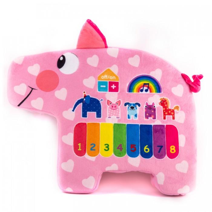 Картинка для Развивающая игрушка Деревяшки музыкальная Поросенок Хрю