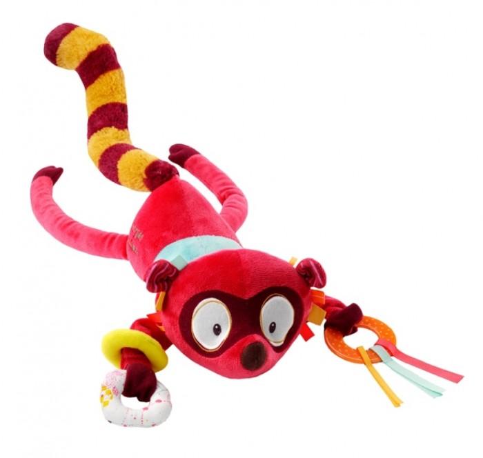 Купить Мягкие игрушки, Мягкая игрушка Lilliputiens Лемур Джордж: музыкальная игрушка