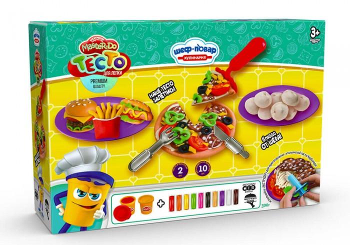 Danko Toys Набор теста для лепки Master Do Пицца средняя