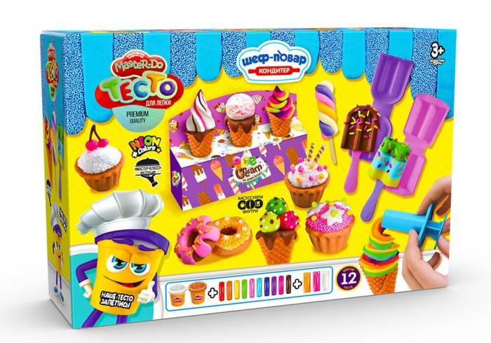 Danko Toys Набор теста для лепки Master Do Мороженое средняя