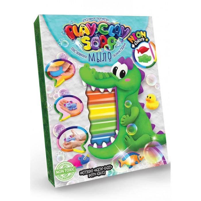 Наборы для мыловарения Danko Toys Пластилиновое Мыло своими руками Play Clay Soap 6 цветов 125 г PCS-03-02