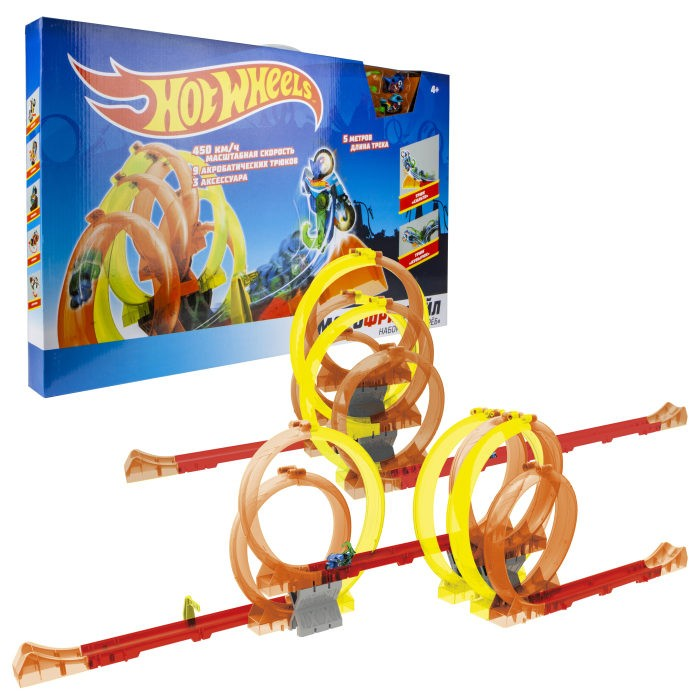 1 Toy Hot Wheels Мотофристайл Т16723