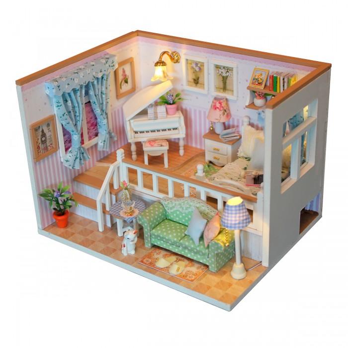 Кукольные домики и мебель Hobby Day Румбокс Музыкальная комната румбокс интерьерный конструктор diy mini house музыкальная комната