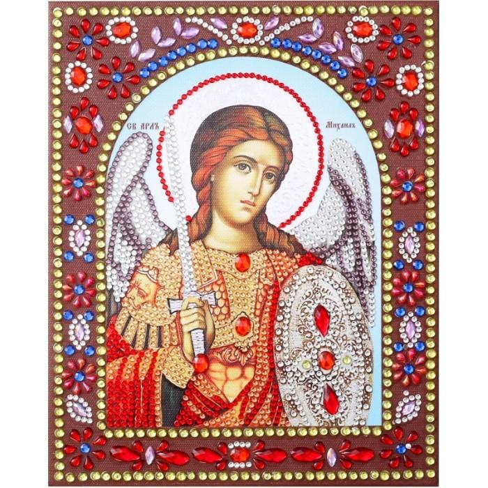 Картины своими руками Color Kit Картина фигурными стразами Святой Архангел Михаил статуэтка veronese святой архангел рафаэль 6 4 12 см