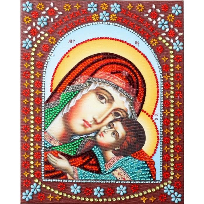 Купить Картины своими руками, Color Kit Картина фигурными стразами Умиление Пресвятой Богородицы