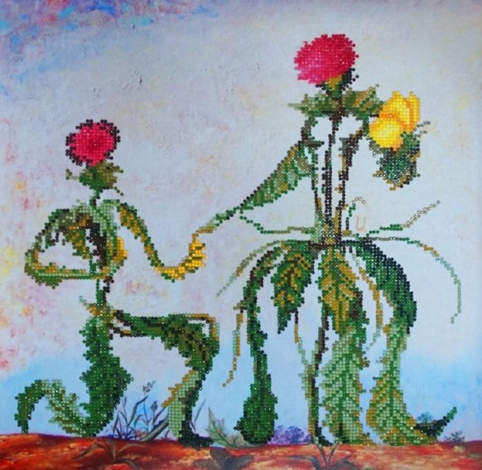 Картины своими руками Color Kit Алмазная картина Предложение руки и сердца картины своими руками color kit картина из пайеток собачка