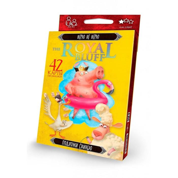 Фото - Настольные игры Danko Toys Настольная игра Верю не верю настольные игры dodo настольная карточная игра болтун