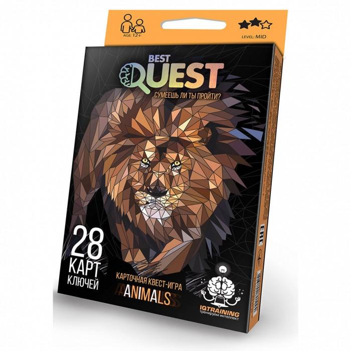 Настольные игры Danko Toys Настольная игра Best Quest Сумеешь ли ты пройти? металлоискатель deteknix quest quest pro грунтовый и подводный