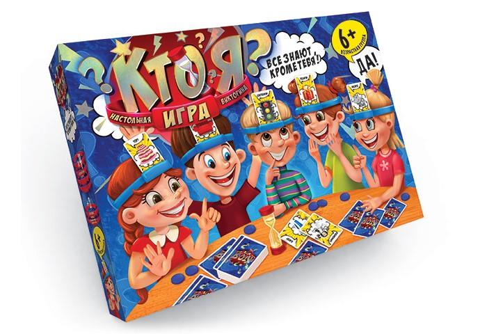 Купить Настольные игры, Danko Toys Настольная игра Кто Я? большая