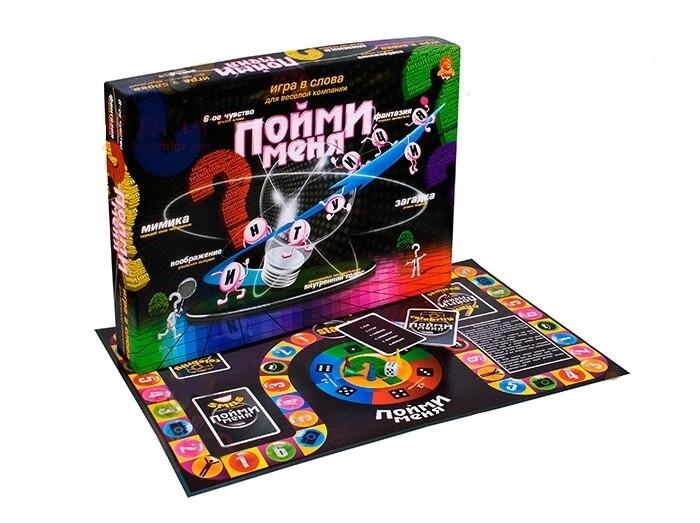 Настольные игры Danko Toys Настольная игра Пойми меня