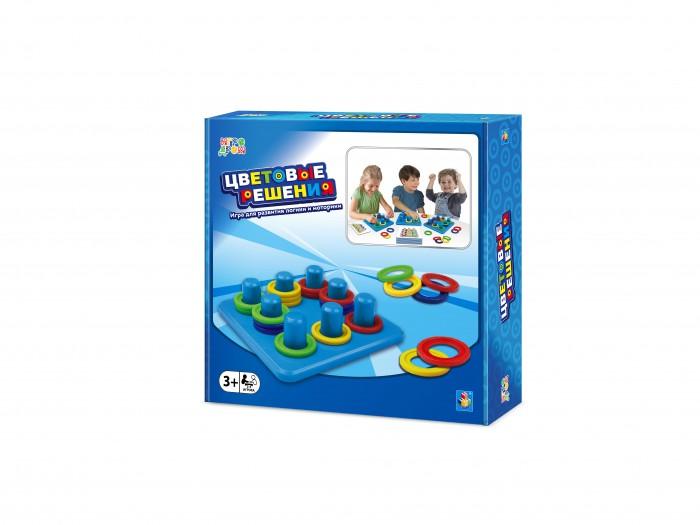 Фото - Настольные игры 1 Toy Игра настольная Игродром Цветовые решения настольная игра 1 toy игродром логические опыты
