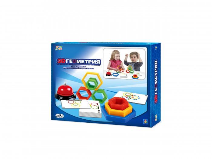 Фото - Настольные игры 1 Toy Игра настольная Игродром 3D Геометрия настольная игра 1 toy игродром логические опыты