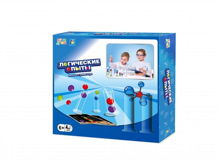 Фото - Настольные игры 1 Toy Игра настольная Игродром Логические опыты настольные игры 1 toy игра настольная укрощение драконов