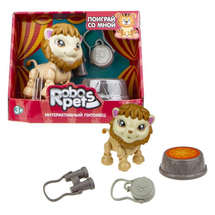 Купить Интерактивные игрушки, Интерактивная игрушка 1 Toy Robo Pets Артист цирка Лев