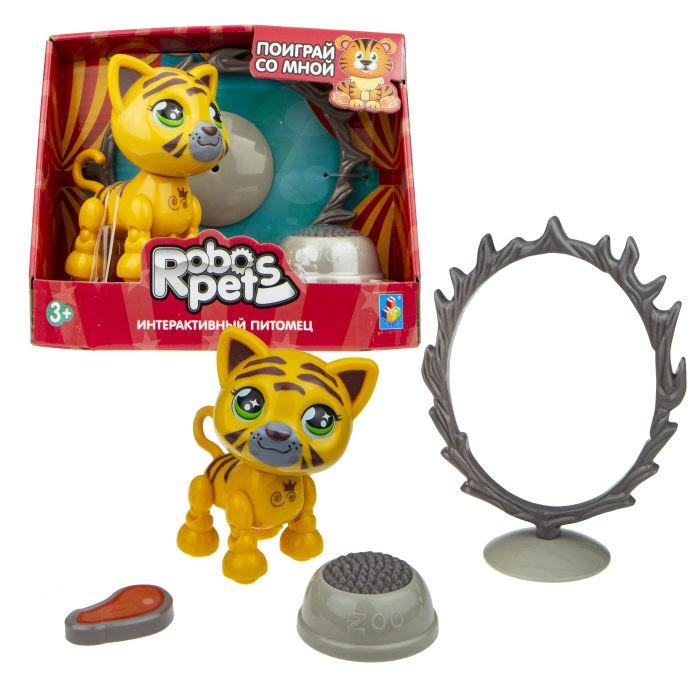 Интерактивная игрушка 1 Toy Robo Pets Артист цирка Тигр