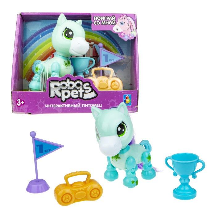 Интерактивные игрушки 1 Toy Robo Pets Игривый пони Т16978