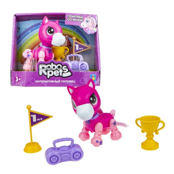 Интерактивные игрушки 1 Toy Robo Pets Игривый пони Т16976