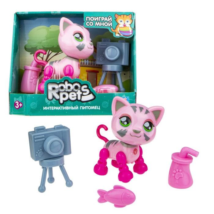 Интерактивные игрушки 1 Toy Robo Pets Милашка котенок Т16981