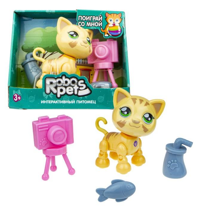 Интерактивные игрушки 1 Toy Robo Pets Милашка котенок Т16980