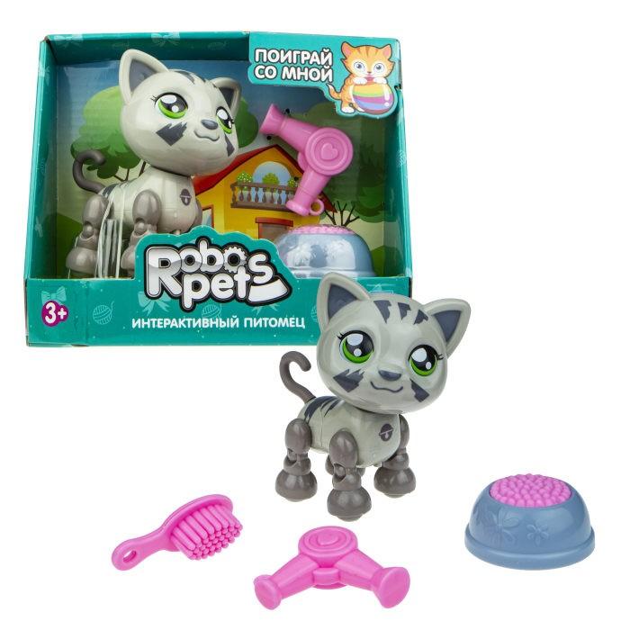 Интерактивные игрушки 1 Toy Robo Pets Милашка котенок Т16979