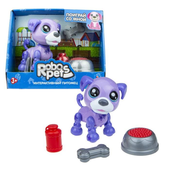 Фото - Интерактивные игрушки 1 Toy Robo Pets Озорной щенок Т16939 игрушка интерактивная 1toy robo pets робо щенок розовый