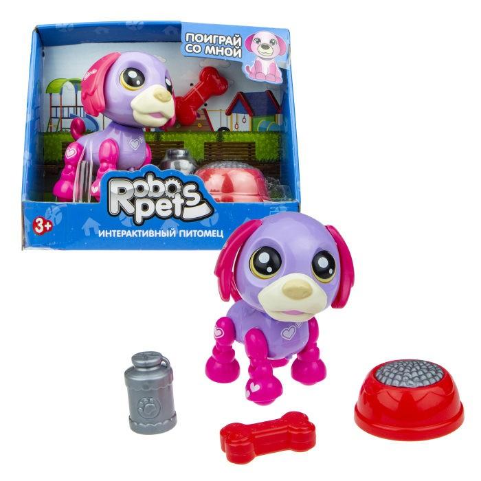 Фото - Интерактивные игрушки 1 Toy Robo Pets Озорной щенок Т16938 игрушка интерактивная 1toy robo pets робо щенок розовый