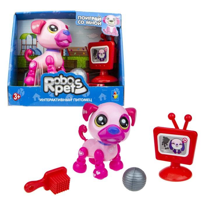 Купить Интерактивные игрушки, Интерактивная игрушка 1 Toy Robo Pets Озорной щенок Т16937