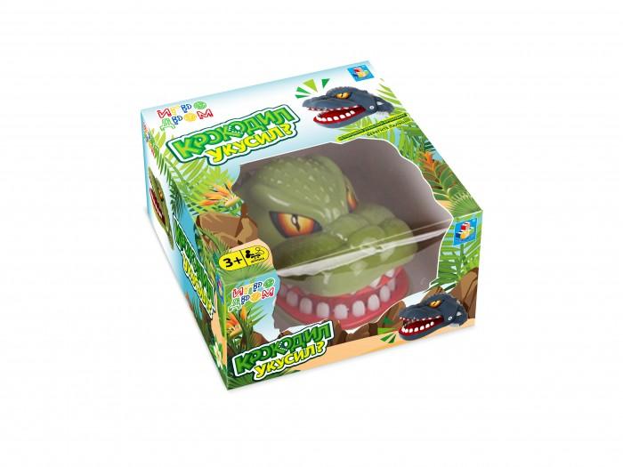 Фото - Настольные игры 1 Toy Игра настольная Игродром Крокодил укусил настольная игра 1 toy игродром логические опыты