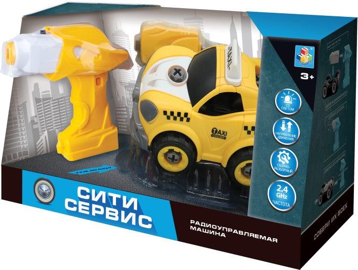 Радиоуправляемые игрушки 1 Toy Такси на радиоуправлении Сити-сервис