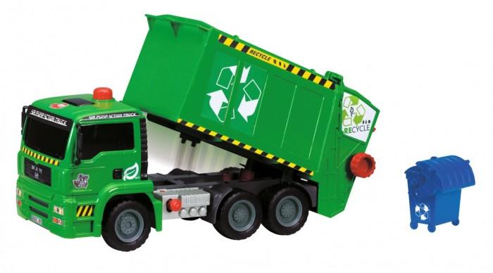 Картинка для Машины Dickie Мусоровоз с контейнером 31 см