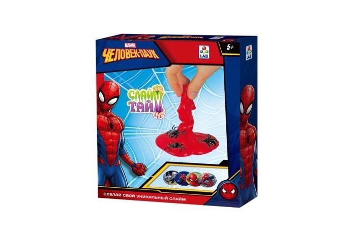 Купить Наборы для творчества, Марвел (Marvel) Слайм тайм Набор Человек паук Т14293