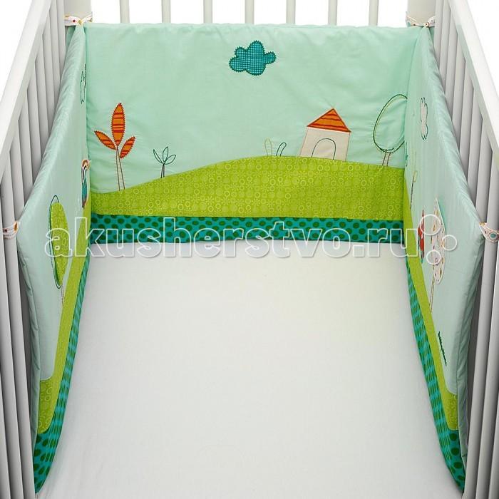 Бампер для кроватки Lilliputiens Собачка ДжефСобачка ДжефLilliputiens Собачка Джеф: развивающий бампер на кроватку.  Благодаря съемным чехлам, бортики для кроватки Джефа очень практичны. Бортики можно регулировать в зависимости от размера кроватки, а также там есть кармашек для игрушки.<br>