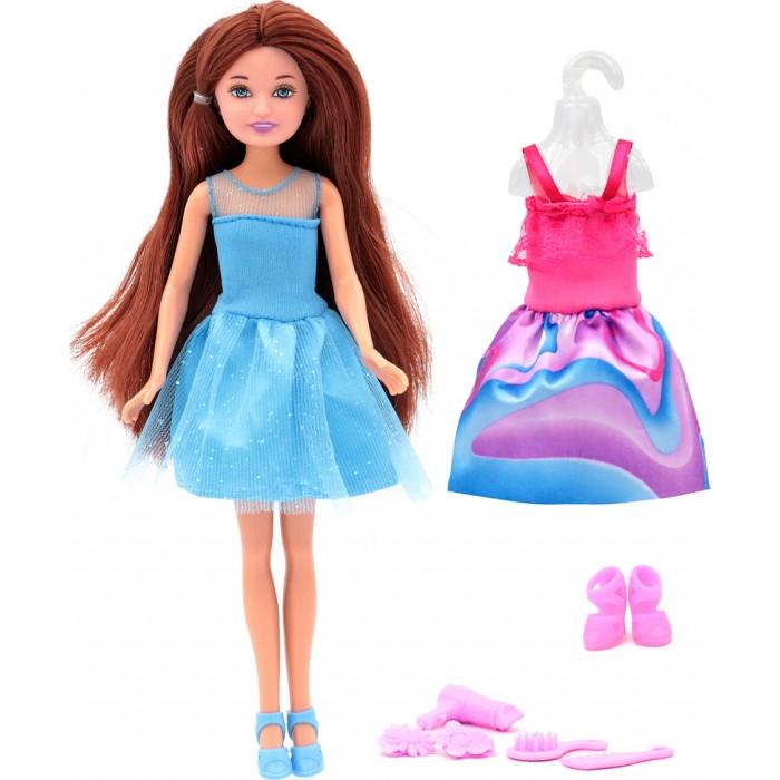 Funky Toys Кукла Мила со сменным платьем и аксессуарами 23 см