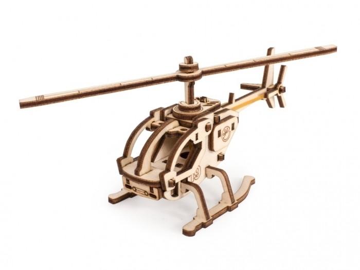 Сборные модели Lemmo Конструктор 3D Вертолет Робинзон