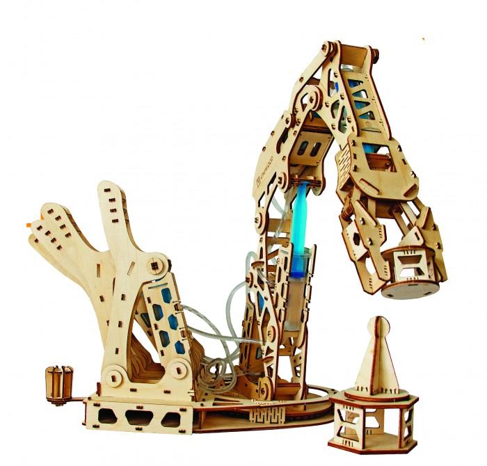 Купить Сборные модели, Uniwood Гидравлическая рука UNIMO 2 (384 детали)