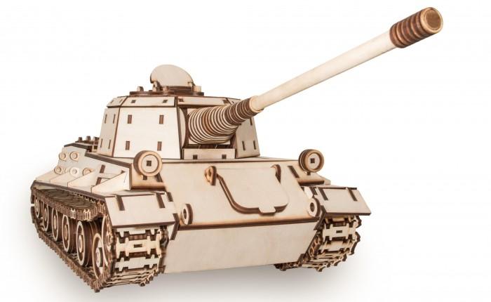 Купить Сборные модели, Eco Wood Art Конструктор 3D EWA Танк Лев 679 деталей
