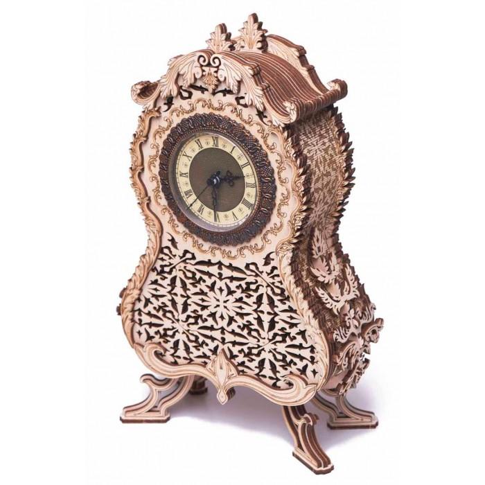 Купить Сборные модели, Wood Trick Механическая сборная модель Винтажные часы (134 детали)