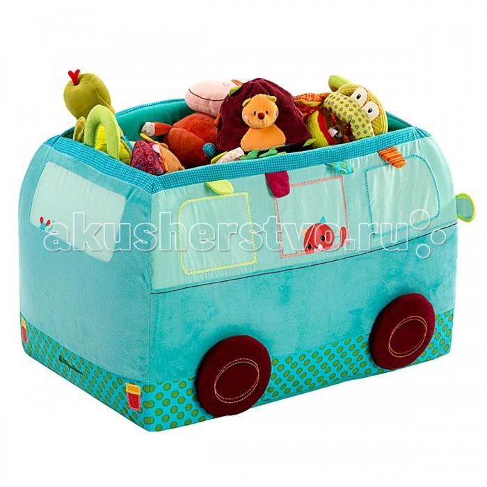 Lilliputiens Собачка Джеф: игрушка - корзинаСобачка Джеф: игрушка - корзинаLilliputiens Собачка Джеф: игрушка - корзина.  Конечная остановка в твоей комнате для Джефа и его автобуса! В автобусе не только удобно хранить все свои вещи, он также украшает твою комнату. Практически все игрушки можно стирать в машинке, и они все соответствуют самым строгим стандартам качества. Тщательный отбор материалов и постоянный контроль производства обеспечивают непревзойденное качество этих игрушек.<br>