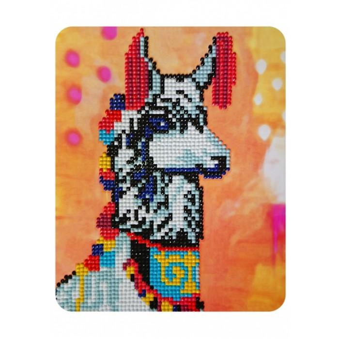 Картины своими руками Color Kit Алмазная картина Нарядная лама
