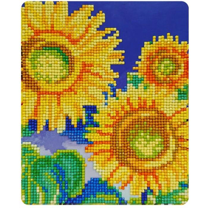 Картины своими руками Color Kit Алмазная картина Подсолнухи