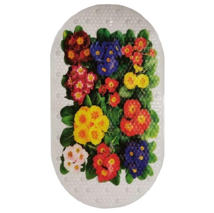 Купить Коврик Aqua-Prime Crystal Spa для ванны Цветы 68х38 см в интернет магазине. Цены, фото, описания, характеристики, отзывы, обзоры