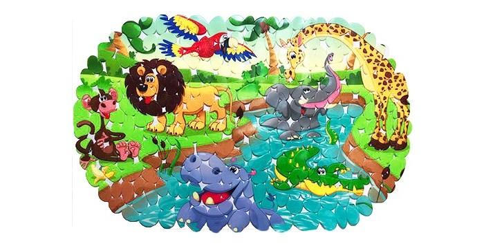 Купить Коврик Aqua-Prime Spa для ванны Африка 67х36 см в интернет магазине. Цены, фото, описания, характеристики, отзывы, обзоры
