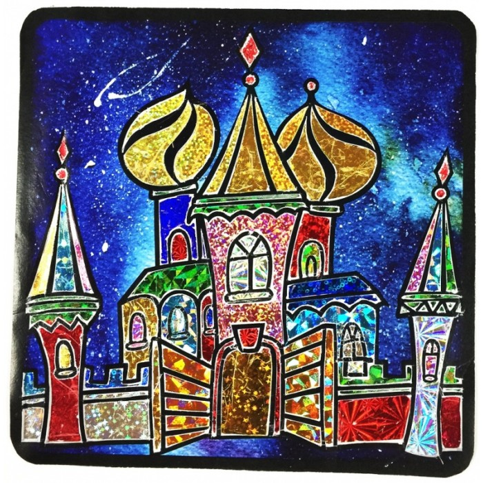 Купить Color Kit Аппликация цветной фольгой Пряничный город в интернет магазине. Цены, фото, описания, характеристики, отзывы, обзоры