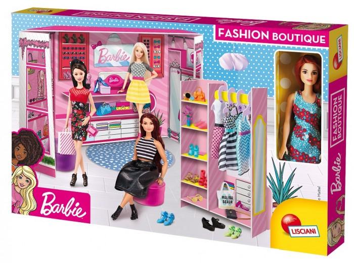 Куклы и одежда для кукол Barbie Модный магазин с настоящей Барби